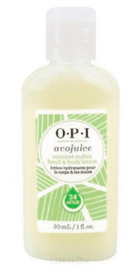 OPI, Лосьон для рук Кокос/Дыня Avojuice, 250 мл цены онлайн