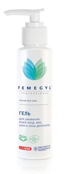 Femegyl, Гель для умывания кожи лица, век, шеи и зоны декольте, 100 мл крем herbolive для лица шеи и зоны декольте 50 мл