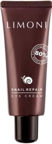 Купить Limoni, Восстанавливающий крем для лица с экстрактом муцина улитки Snail Repair All In One Cream, 50 мл