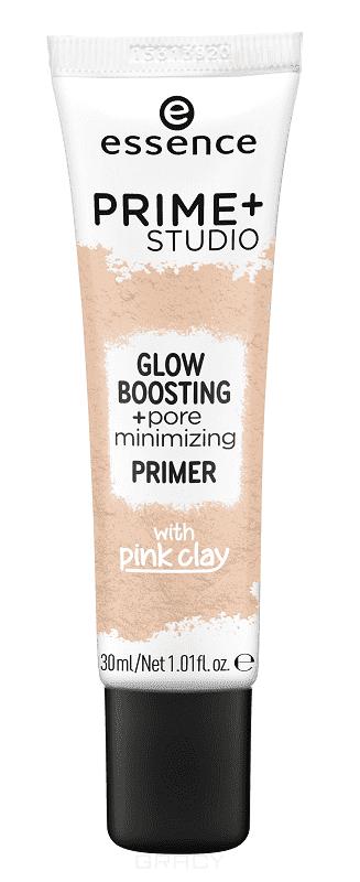Купить Essence, Праймер для лица Prime+ Studio Glow Boosting+Pore Minimizing Primer, 30 мл