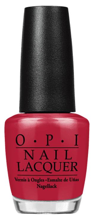 купить OPI, Лак для ногтей Nail Lacquer, 15 мл (214 цветов) Chick Flick Cherry / Classics