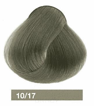 Lakme, Перманентная крем-краска Collage, 60 мл (99 оттенков) 10/17 Очень светлый блондин пепельный