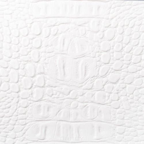 Купить Имидж Мастер, Парикмахерское кресло БРАЙТОН декор, гидравлика, пятилучье - хром (49 цветов) Белый крокодил 2202