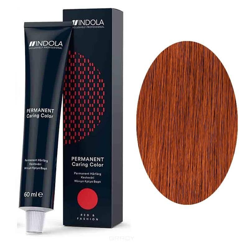 Indola, Индола краска для волос профессиональная Profession, 60 мл (палитра 141 цвет) 7.44 средний русый интенсивный медный