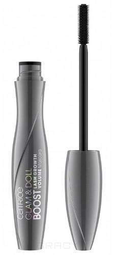 Тушь для ресниц Glam & Doll Boost Lash Growth Volume Mascara тушь для ресниц nyx professional makeup doll eye mascara long lash цвет black variant hex name 000000