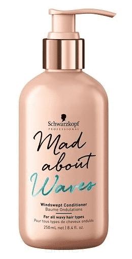Schwarzkopf Professional, Кондиционер для всех типов волнистых волос Mad About Waves Windswept Сonditioner, 250 мл elgon sublimia кондиционер интенсивный для всех типов волос 10 в 1 250 мл