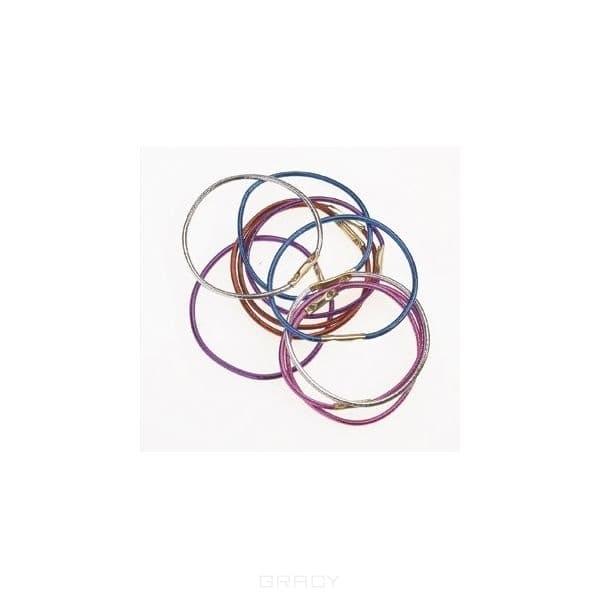 Comair, Резинки тонкие, разноцветные, 12 штЗажимы, шпильки, резинки<br><br>