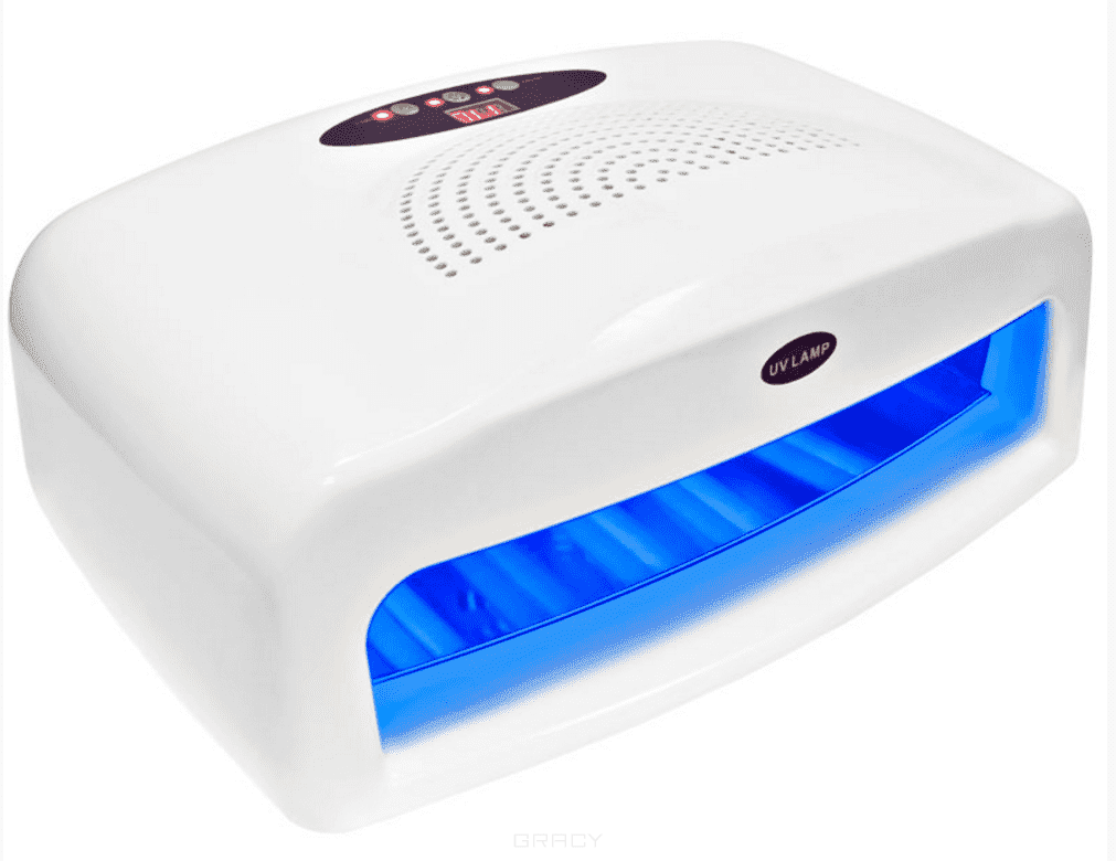 Planet Nails, УФ лампа 54W ASN Digital на две руки с вентиляторомОборудование для салонов<br><br>