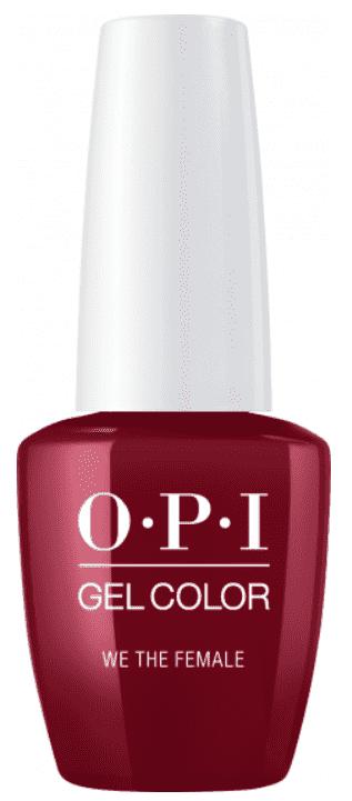 OPI, Гель-лак GelColor, 15 мл (95 цветов) We The Female lianail гель лак academy 54