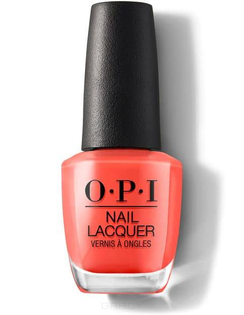 OPI, Лак для ногтей Nail Lacquer, 15 мл (293 цвета) Living On The Bula-Vard! / Classics фото