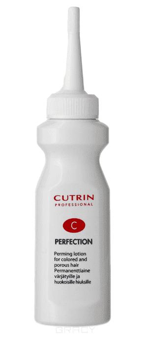 Cutrin, Состав для химической завивки для окрашенных и поврежденных волос Perfection C, 75 мл cutrin состав для химической завивки для окрашенных и поврежденных волос perfection c 75 мл