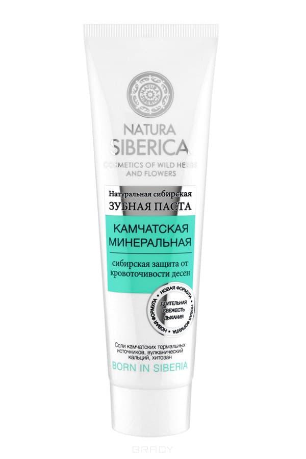Natura Siberica, Зубная паста Камчатская минеральная, 100 грЗубные пасты Натура Сиберика<br><br>