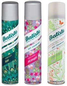 цена Batiste, Набор сухих шампуней Luxe + Pink Pineapple + Bare 3x200 мл Батист