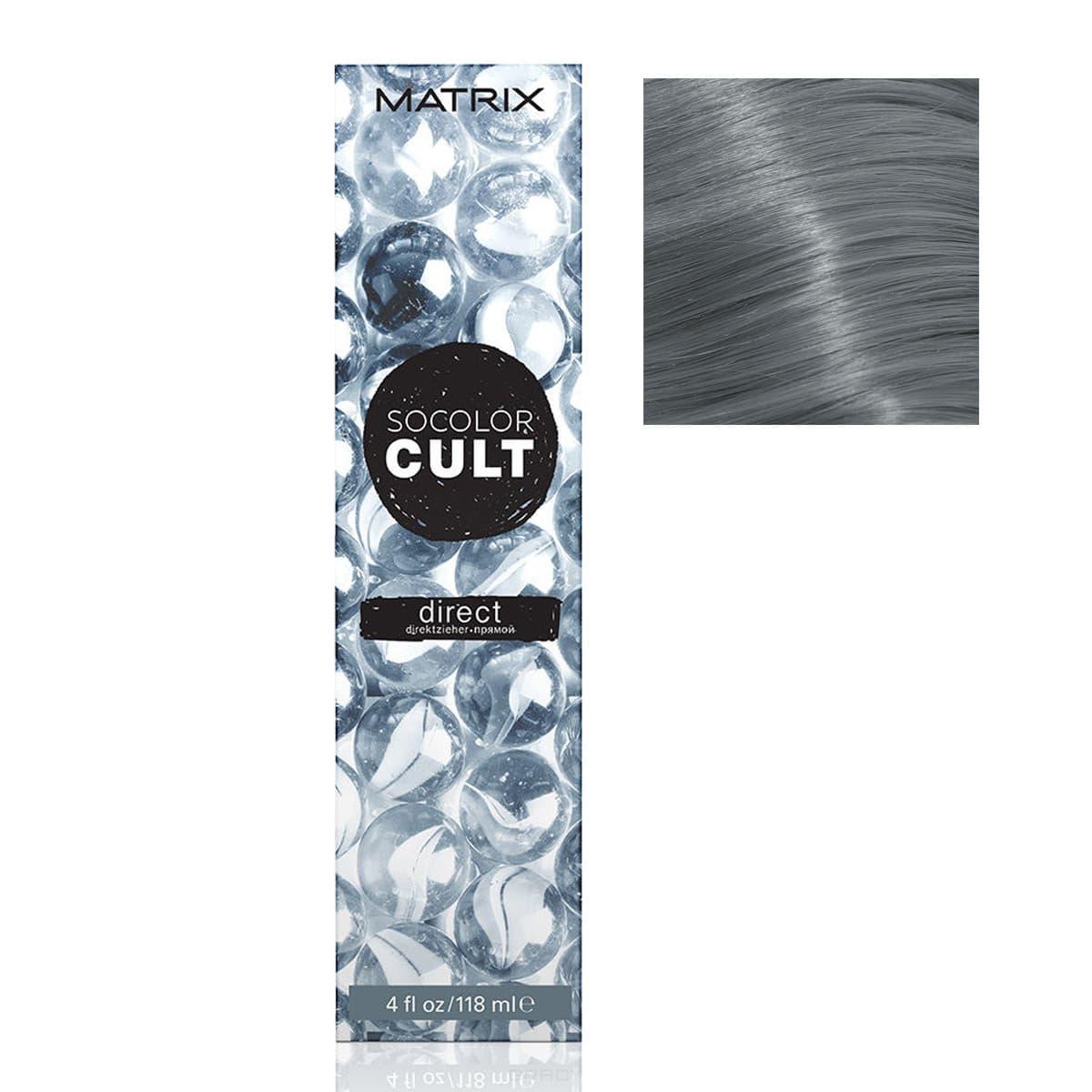 Купить Matrix, Краска для волос Socolor Cult, (14 оттенков) МРАМОРНЫЙ СЕРЫЙ