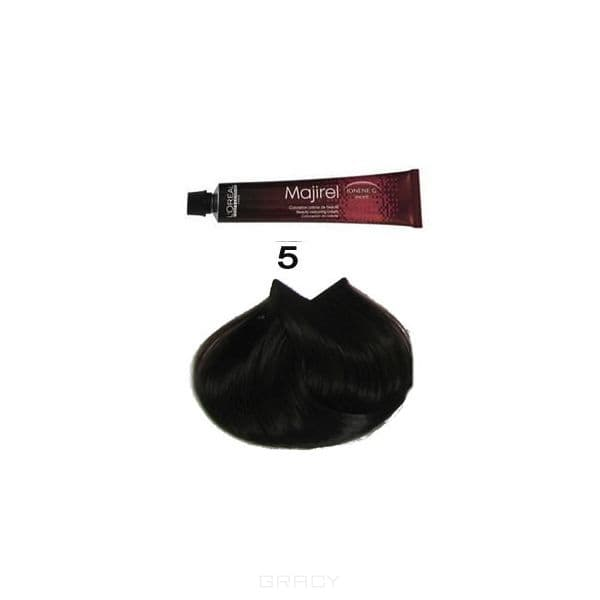 LOreal Professionnel, Крем-краска Мажирель Majirel, 50 мл (88 оттенков)  5. светлый шатенОкрашивание<br><br>