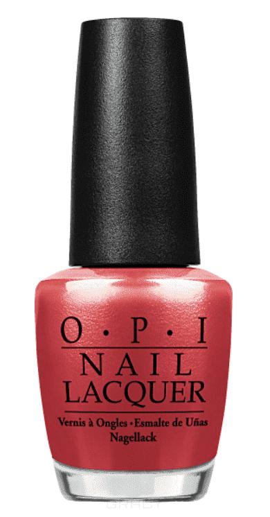 OPI, Лак для ногтей Classic, 15 мл (106 цветов) Go With The Lava Flow opi лак для ногтей classic 15 мл 106 цветов two timing the zones