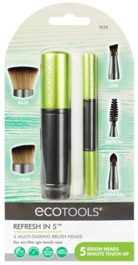 Ecotools, Набор кистей для макияжа Refresh in 5 цены