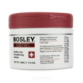 Маска оздоравливающая укрепляющая Healthy Hair Strengthening Masgue, 200 млОздоравливающая укрепляющая маска Healthy Hair Strengthening Masgue способствует увеличению прочности и объема для ломких, слабых волос с повреждениями. В состав включены растительные белки и биотин, обеспечивающие укрепление, а благодаря ромашке и экстракту жожоба гарантируется улучшение состояния волос. Маска создана для волос, подвергшихся высокотемпературному воздействию, а также химически обработанных или многократно осветленных. Наносится на все очищенные влажные волосы и на протяжении 5 минут выдерживается, после чего смывается.<br>