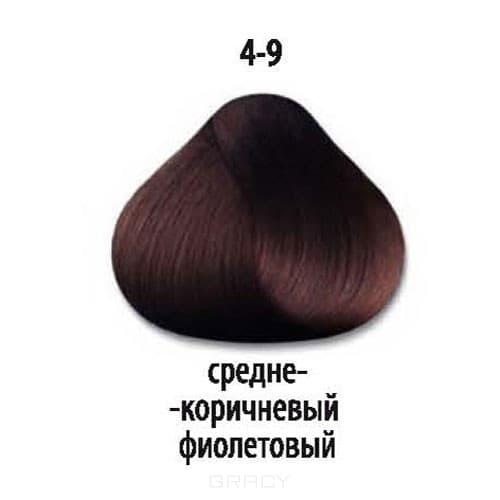 Constant Delight, Стойкая крем-краска для волос Delight Trionfo (63 оттенка), 60 мл 4-9 Средний коричневый фиолетовыйОкрашивание<br>Краска для волос Constant Delight Trionfo - это уникальное средство, способное придать волосам здоровый вид и блеск.<br>  <br>Крем-краска Трионфо от Констант Делайт наосится на невымытые сухие волосы. Выдерживается средство на волосах до 45 минут. <br> Constan...<br>
