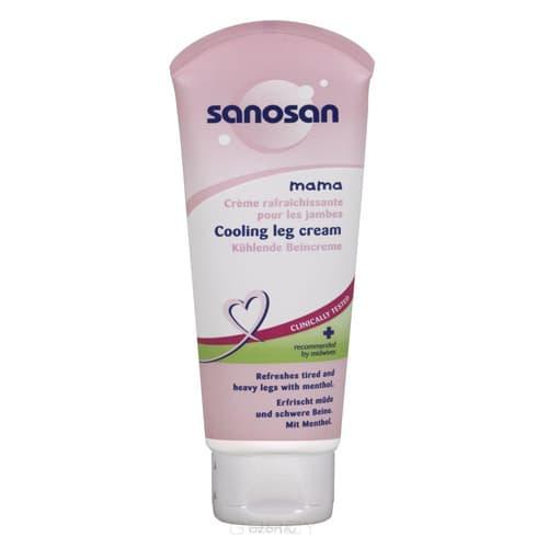 Sanosan, Крем охлаждающий для ног в период беременности, 100 мл масло для массажа в период беременности 100 мл sanosan