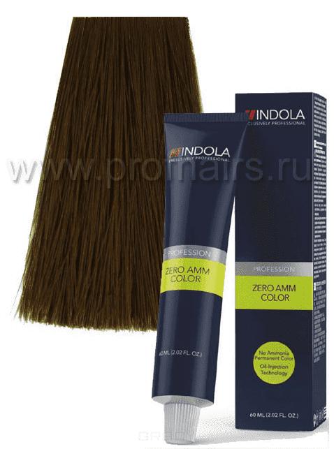 Indola, Zero Amm Стойкий краситель на масляной основе без аммиака, 60 мл (35 оттенков) 7-3 средний русый золотистыйIndola Profession - окрашивание волос<br><br>