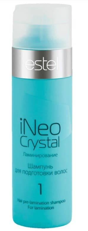 Купить Estel, iNeo-Crystal Шампунь глубокой очистки для подготовки волос к ламинированию Эстель Shampoo, 200 мл