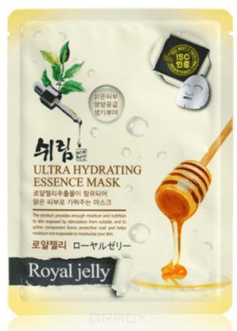 Shelim, Ultra Hydrating Essence Mask Royal Jelly Тканевая маска для лица с натуральным экстрактом пчелиного маточного молочка, 25 мл frudia blueberry hydrating natural maintains moisture увлажняющая тканевая маска для лица с экстрактом черники 27 мл