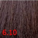 Kaaral, Крем-краска для волос Baco Permament Haircolor, 100 мл (106 оттенков) 6.10 темный пепельный блондин  - Купить
