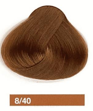 Купить Lakme, Перманентная крем-краска Collage, 60 мл (99 оттенков) 8/40 Блондин медный