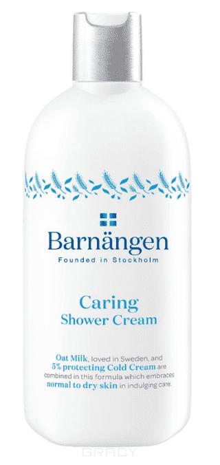 Barnangen, Ухаживающий крем-гель для душа для нормальной и сухой кожи, 400 мл гель для душа сияние солнца barnangen 400 мл