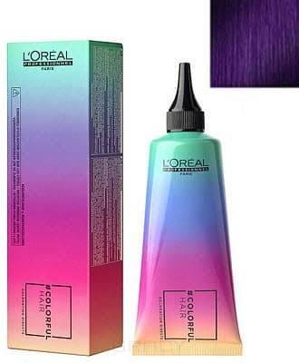 цена L'Oreal Professionnel, Макияж для волос Colorful Hair, 90 мл (12 оттенков) Электрический лиловый