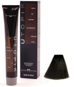 Купить Hipertin, Utopik Platinum Ипертин Краска для волос Ипертин (палитра 103 цвета), 60 мл 4/00+U шатен интенсивный