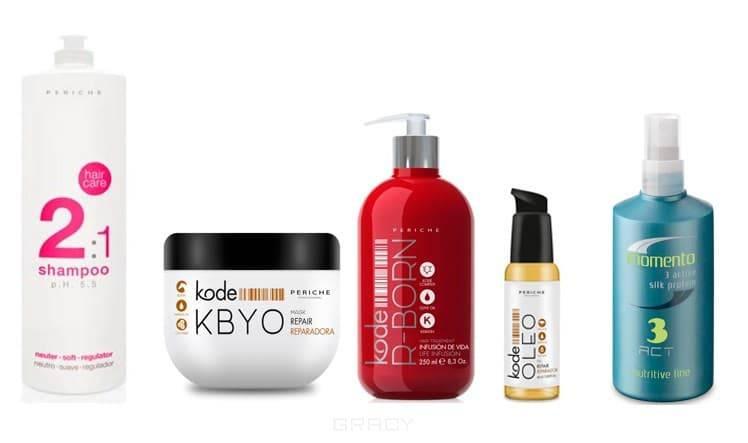 Periche, Набор для восстановления волос, биксипластии, 950/500/250/60/130 мл фото