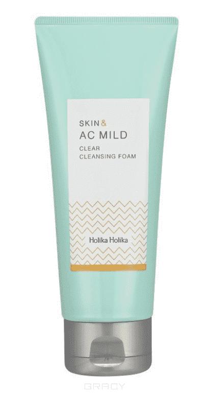 Skin and AC Mild Clear Cleansing Foam Пенка для лица Очищающая, 150 мл Холика Холика