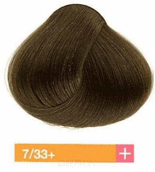 Купить Lakme, Перманентная крем-краска Collage, 60 мл (99 оттенков) 7/33+ Средний блондин интенсивный золотистый яркий