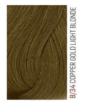 Купить Lakme, Перманентная крем-краска для волос без аммиака Chroma, 60 мл (32 тона) 8/34 Блондин золотисто-медный