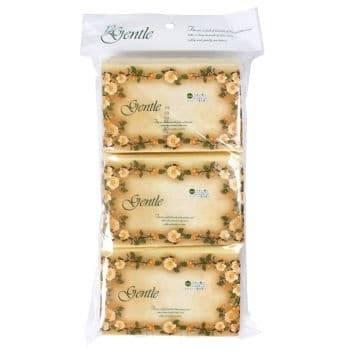 Салфетки бумажные двухслойные, Gentle, 200 шт