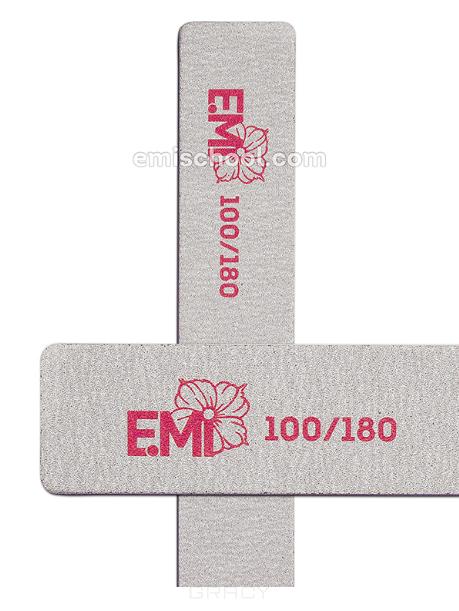 Купить E.Mi, Пилка Zebra 100/180 (2 вида), 1 шт, Oval