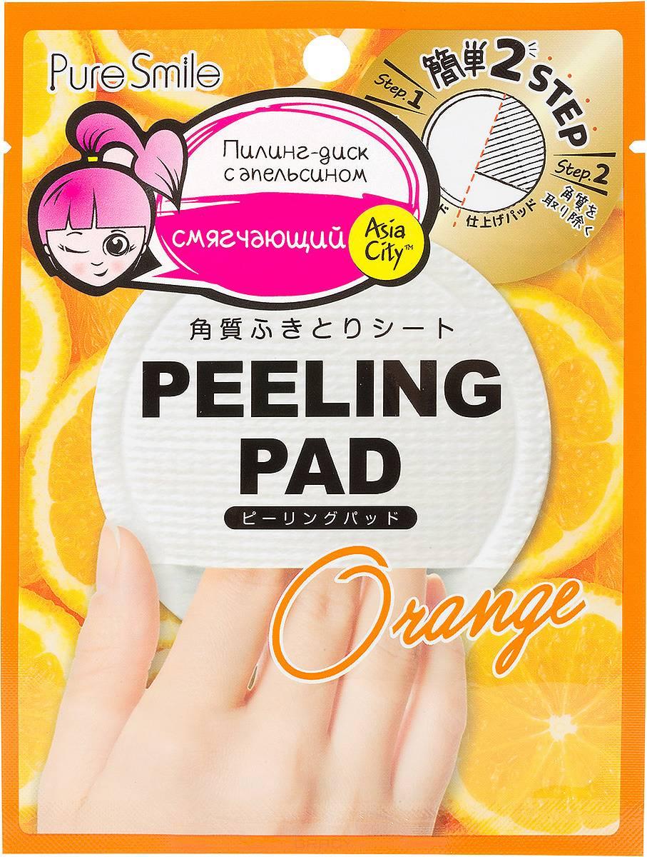 Sunsmile, Пилинг-диск для лица с экстрактом апельсина Peeling Pad, 7 мл фото