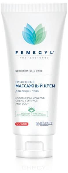 Питательный массажный крем для лица и тела, 200 млБогатейший состав массажного крема оказывает мощное питательное, увлажняющее, подтягивающее, защитное и восстанавливающее действие. Стимулирует работу клеток кожи, улучшая тканевое дыхание. Восстанавливает защитную мантию кожи.&#13;<br> &#13;<br> АКТИВНЫЕ ИНГРЕДИЕНТЫ&#13;<br> 7 натуральных аминокислот, бетаин, экстракт ламинарии, гидролизованный протеин пшеницы, провитамин B5 (пантенол)&#13;<br> &#13;<br> СПОСОБ ПРИМЕНЕНИЯ&#13;<br> На предварительно очищенную кожу лица, шеи, зоны декольте, либо на все тело нанести нужное количество крема и выполнить массаж. По окончании процедуры массажа крем полностью впитывается, обеспечивая максимальное увлажнение и комфорт. При необходимости смыть водой.&#13;<br> &#13;<br> СОСТАВ&#13;<br>Deionized Water, Paraffinum Liquidum (EU) / Mineral Oil, Isopropyl Myristate, Dimethicone, Laminaria extract, Betaine/ Sodium PCA / Sorbitol / Serine / Glycine / Glutamic Acid/ Alanine / Lysine / Arginine / Threonine / Proline / Methylparaben / Propylparaben, Cetearyl alcohol, Cetearyl Alcohol / Cetearyl Glucoside, Hydrolyzed ...<br>