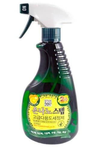 Купить KPMS, Nano Silver Step Универсальное жидкое чистящее средство для дома с серебром Multi-Purpose Cleaner, 550 мл