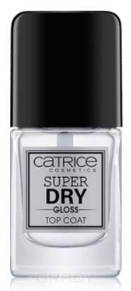 Catrice, Быстросохнущее топовое покрытие Super Dry Gloss Top Coat, прозрачный
