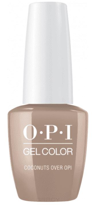 OPI, Гель-лак GelColor, 15 мл (199 цветов) Coconuts Over OPI / Classics opi гель лак gelcolor 15 мл 95 цветов opi by popular vote
