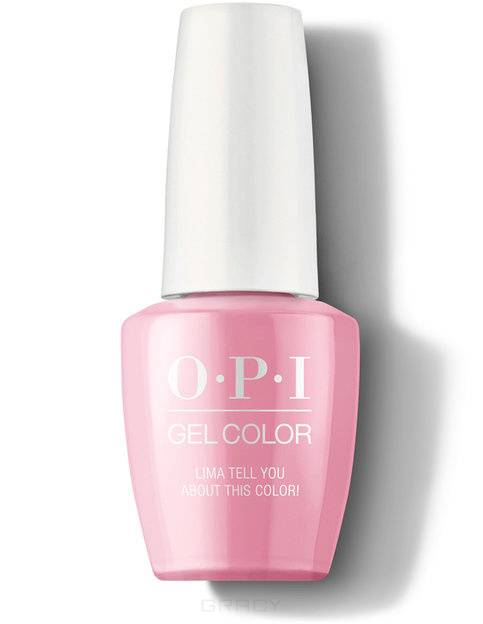OPI, Гель-лак GelColor, 15 мл (199 цветов) Lima Tell You About This Color! / Peru opi гель лак для ногтей gel color peru collection 2018 15 мл 12 цветов seven wonders of opi