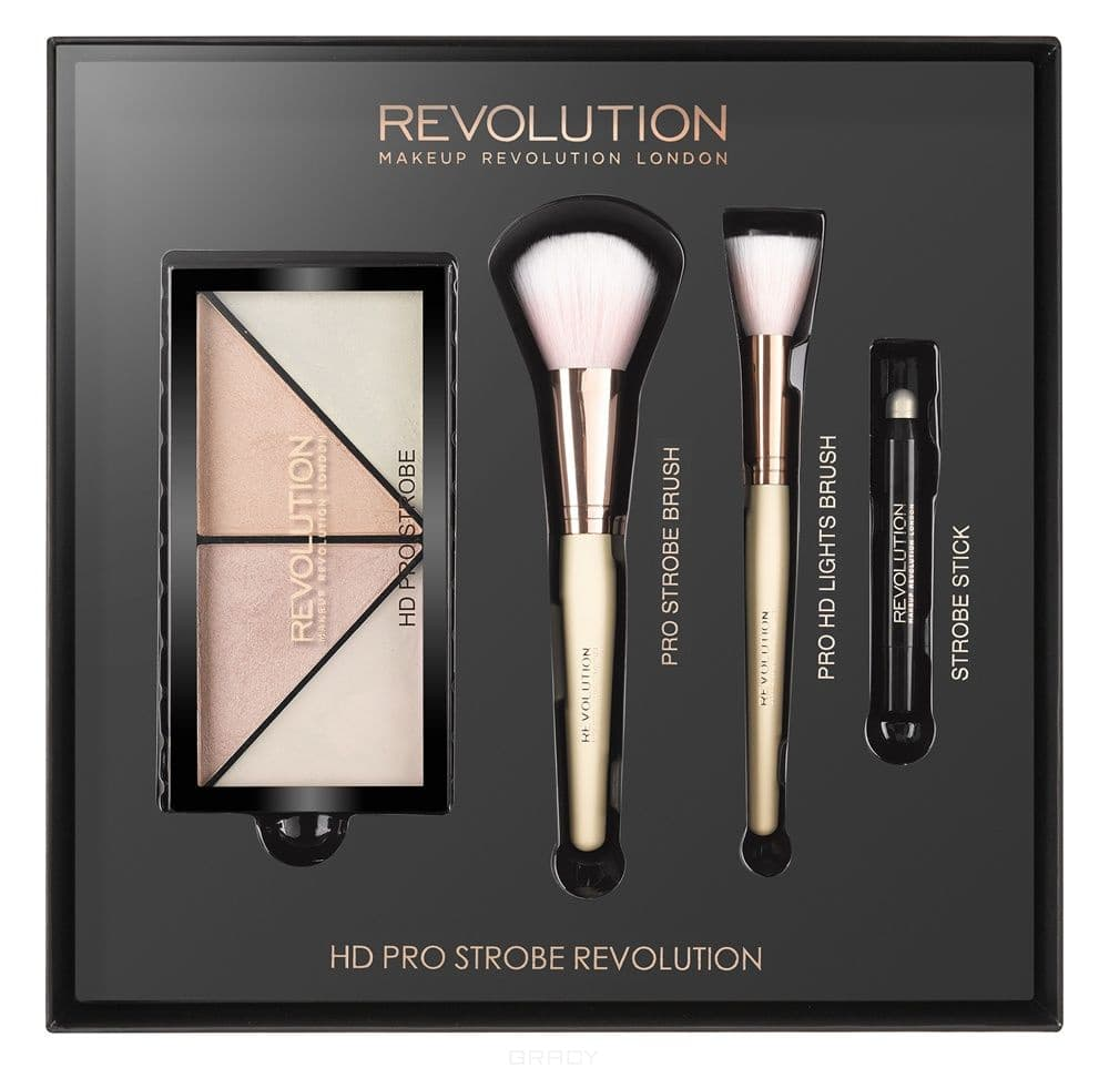 MakeUp Revolution, Набор для макияжа HD Pro Strobe Revolution  - Купить