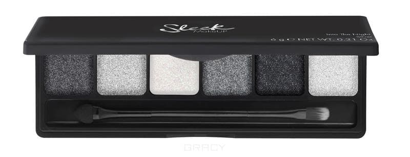 Sleek MakeUp, Палетка теней Into the Night i-Lust Palette (2 вида), 1 шт, 1157 Silver все цены