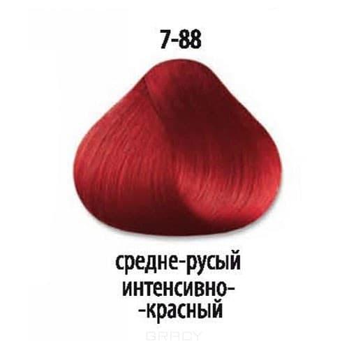 Constant Delight, Краска для волос Констант Делайт Trionfo (палитра 74 цвета), 60 мл 7-88 Средний русый интенсивный красный constant delight крем краска delight trionfo 7 42 средний русый бежевый пепельный 60 мл