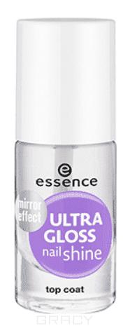 Essence, Верхнее покрытие для ногтей с блеском Ultra Gloss Nail Shine, 8 мл цена