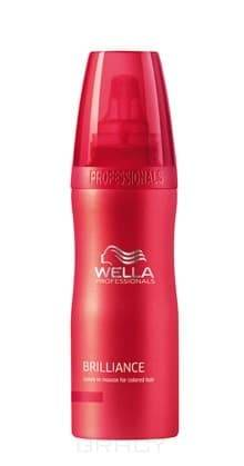 Wella, Мусс-уход для окрашенных волос, 200 млBrilliance Line - серия для окрашенных волос<br><br>