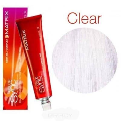 Купить Matrix, Color Sync Краска для волос Матрикс Колор Синк (палитра 68 цветов), 90 мл Прозрачный оттенок